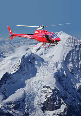 Kananaskis Helicopter Tours  325 For A Rocky Mountains Helicopter Tour And