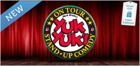 50 Off Admission for 2 at Yuk Yuks