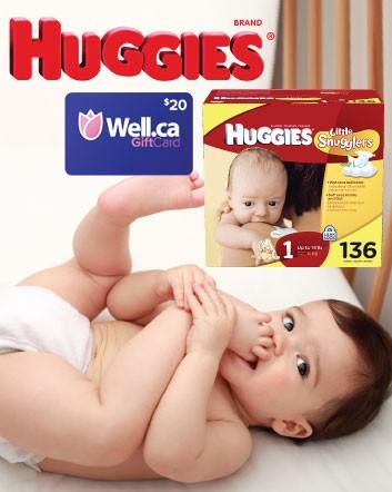 Box of Huggies Little Snugglers Diapers Buytopia