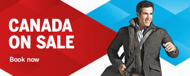 Air Canada Canada Flight Sale & Vacation Blowout Sale