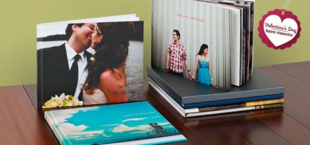 Photobook Canada - $19 for a 40-Page Personalized Imagewrap Hardcover Photobook - Great Gift for Valentine's Day
