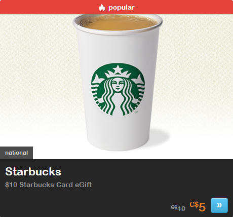 Starbucks LivingSocial