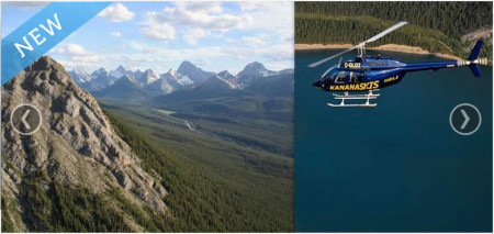 The Rockies Heritage Helicopter Tour
