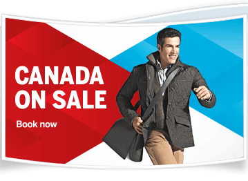 Air Canada Canada on Sale (Book by Feb 10)
