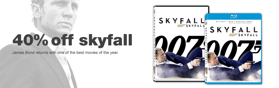Chapters Indigo 40 Off 007 Skyfall Movie + Extra $5 Off Promo Code