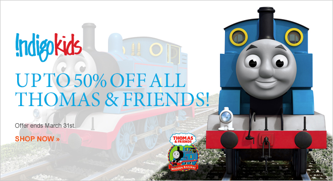 Chapters Indigo Up to 50 Off All Thomas & Friends (Until Mar 31)