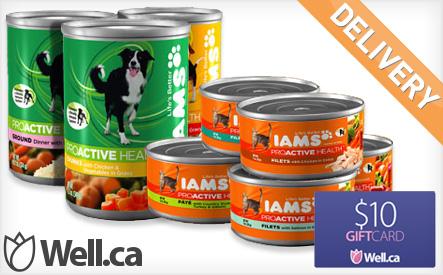Iams Dog or Cat Food Pack