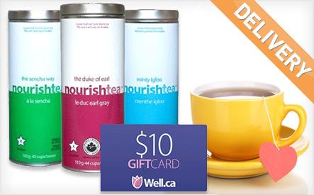 Nourishtea Loose-Leaf Tea Bundle