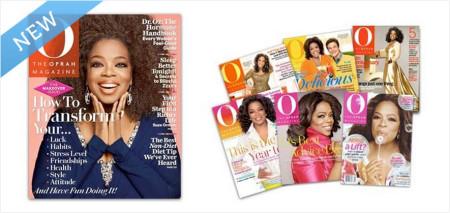 Subscription to Oprah Magazine