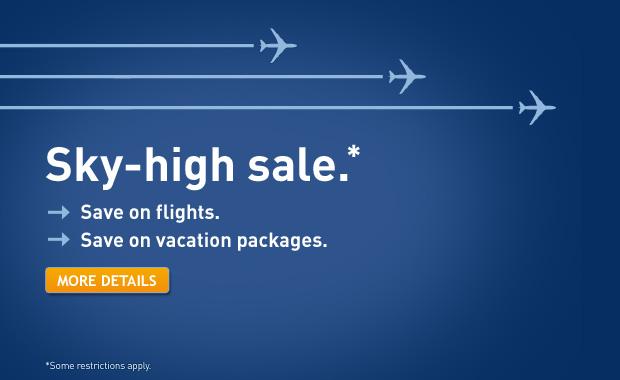 WestJet Sky-High Sale (Book by Feb 10)