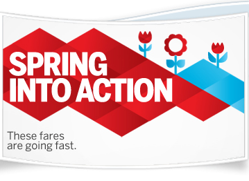 Air Canada Spring into Action Seat Sale - Canada & US (Book by Mar 27)