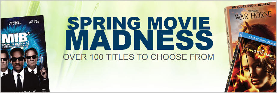 Best Buy Spring Movie Madness Sale