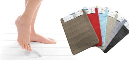 Memory Foam Bath Mat in Your Choice of Stylish Colours