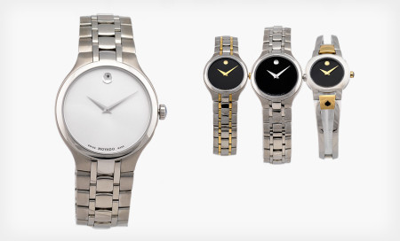 Movado Men's and Women's Watches