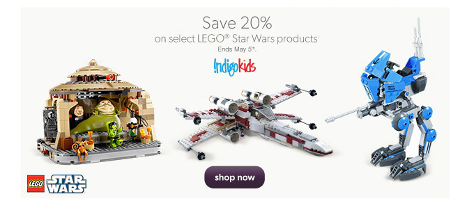 Chapters Indigo Save 20 Off Lego Star Wars Products Calgary