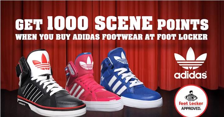Foot Locker Buy Adidas Shoes, Get Free Movie