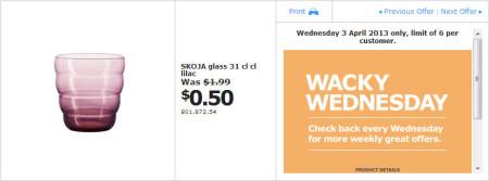 IKEA - Calgary Wacky Wednesday Deal of the Day (April 3) B