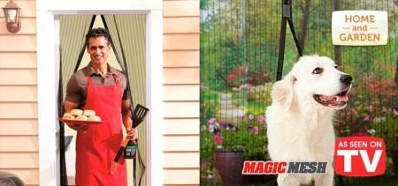Magic Mesh Door Cover