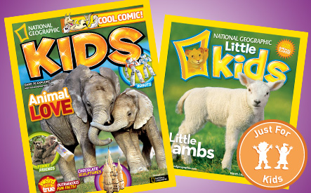 National Geographic Magazines for Kids