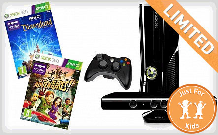 WagJag $199 for Xbox 360 4GB Console with Kinect