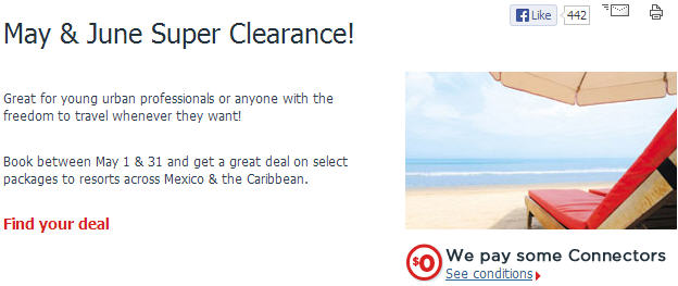 Air Canada Vacations May & June Super Clearance Sale!