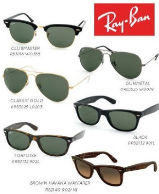 Buytopia Pair of Authentic Ray-Ban Wayfarers or ClubMasters