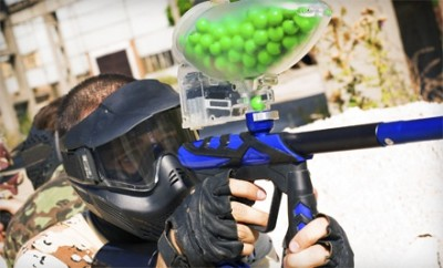 Capture the Flag Outdoor Paintball