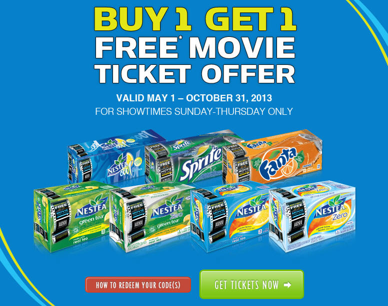 Cineplex Buy 1, Get 1 Free Ticket Offer on Select Boxes of Pop (Until Oct 31)