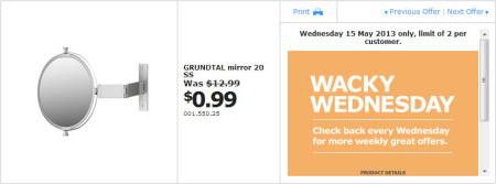 IKEA - Calgary Wacky Wednesday Deal of the Day (May 15) B