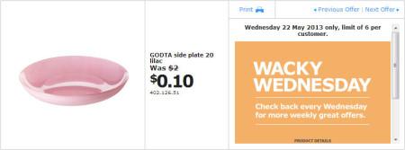 IKEA - Calgary Wacky Wednesday Deal of the Day (May 22) B