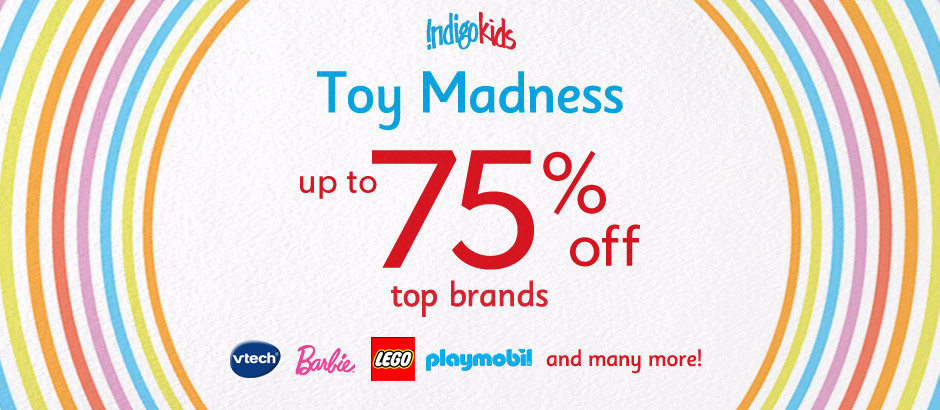 Indigo Kids Toy Madness Sale - Save up to 75 Off Top Brands (Until May 27)
