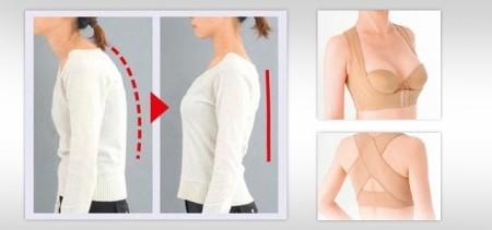 Shoulder and Back Posture Support Strap