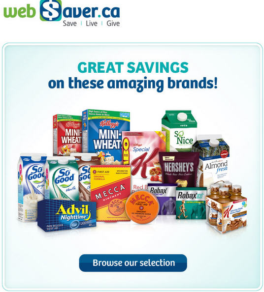 webSaver New Printable Coupons