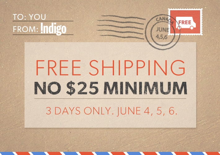 Chapters Indigo Free Shipping on All Orders + Top 50 Books 50 Off (June 4-6)