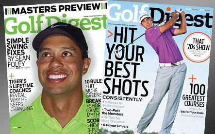 Golf Digest Magazine WagJag