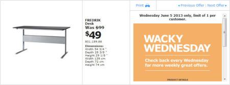 IKEA - Calgary Wacky Wednesday Deal of the Day (June 5) B