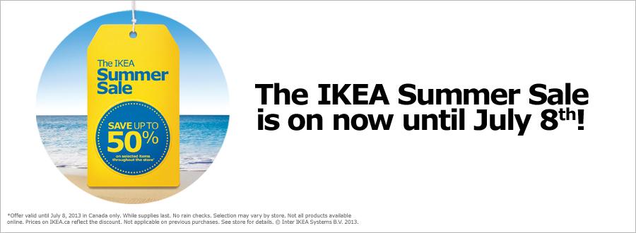 IKEA The IKEA Summer Sale (Until July 8)