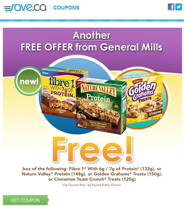 Save 2 FREE General Mills Product Coupons!
