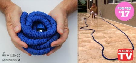 X-Hose Revolutionary Expandable Garden Hose