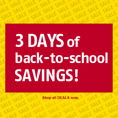 Future Shop 3 Days of Back to School Savings (July 26-28)