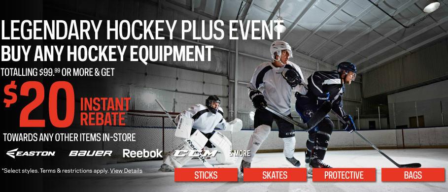 Sport Chek Legendary Hockey Plus Event