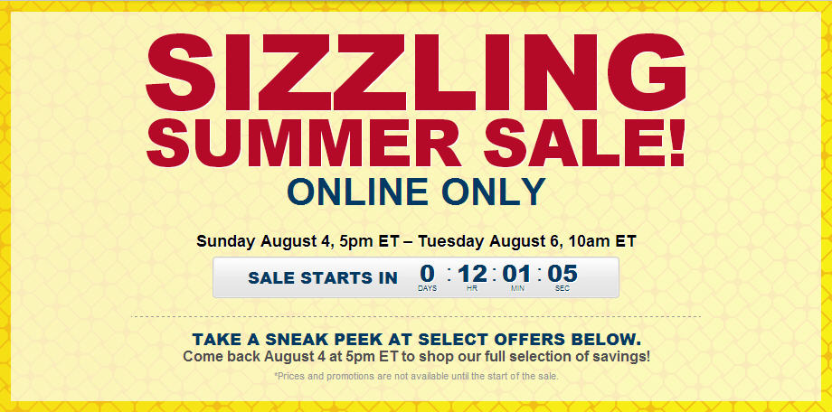 Best Buy Sizzling Summer Online Only Sale (Aug 4-6)