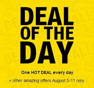 Future Shop Deal of The Day - One Hot Deal Every Day (Aug 5-11)
