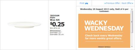 IKEA - Calgary Wacky Wednesday Deal of the Day (Aug 28) A