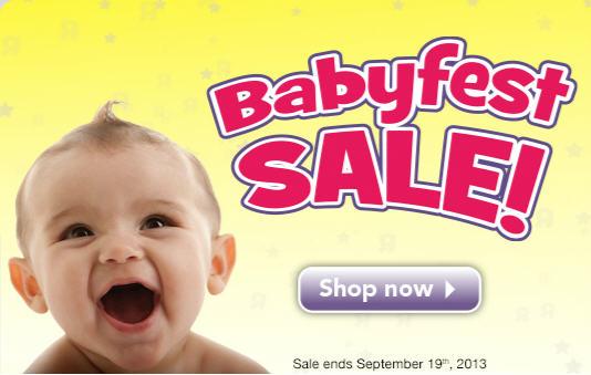 Babies R Us Babyfest Sale is Back (Sept 6-19)
