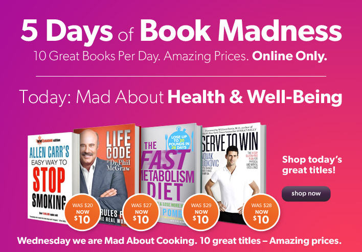 Chapters Indigo Book Madness Sale - 10 Great Book Deals Per Day (Sept 16-20)