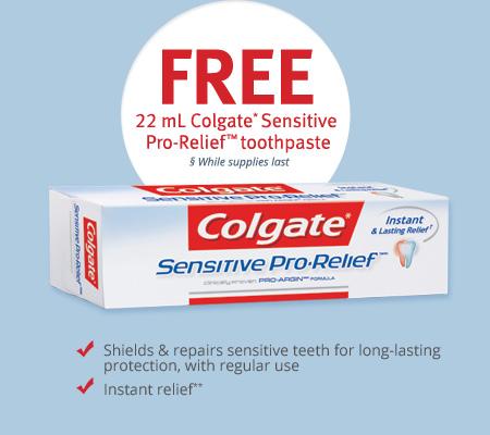 Colgate FREE Toothpaste Sample