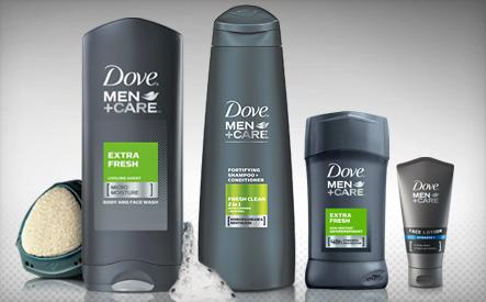 Dove Men Care Shower Kit