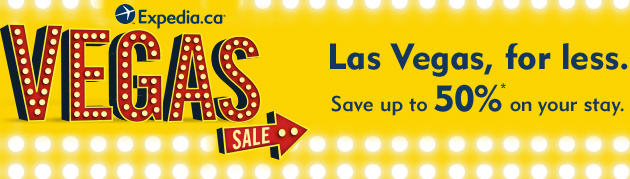 Expedia Vegas Sale - Save up to 50 Off (Until Oct 31)