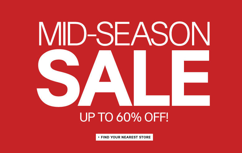 H&M Mid-Season Sale - Save up to 60 Off